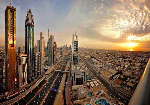 Sheikh Zayed Road - Destination My Dubai
