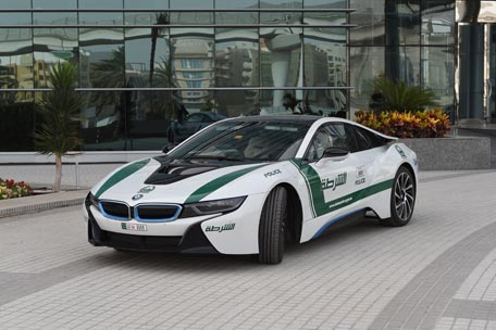 Dubai Police Adds Bmw I8 To Its Fleet Of Supercars